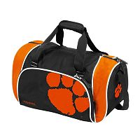 Logo Brand Clemson Tigers Locker Duffel Bag