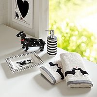 HipStyle Hannah 5 pc Bath Accessory Set