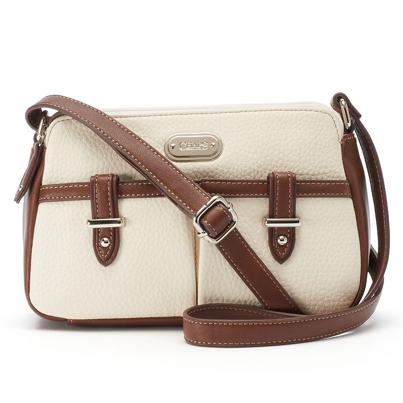 Chaps Callen Double-Zip Crossbody Bag