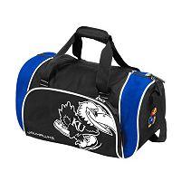 Logo Brand Kansas Jayhawks Locker Duffel Bag