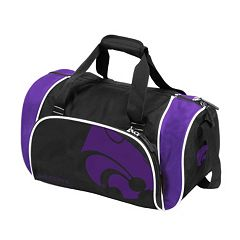 Logo Brand Kansas State Wildcats Locker Duffel Bag