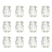 Global Amici 12 pc Hexagonal Hermetic Spice Jar Set
