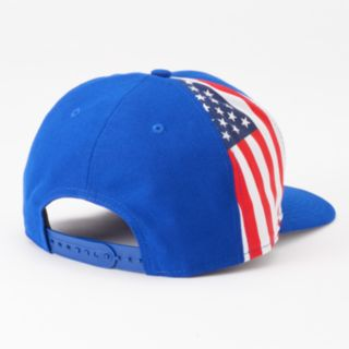 Adult New Era Chicago Cubs Flag Side 9FIFTY Snapback Cap