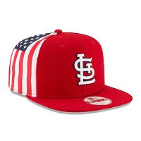Adult New Era St. Louis Cardinals Flag Side 9FIFTY Snapback Cap