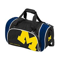 Logo Brand Michigan Wolverines Locker Duffel Bag