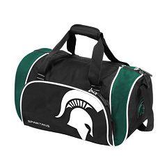 Logo Brand Michigan State Spartans Locker Duffel Bag
