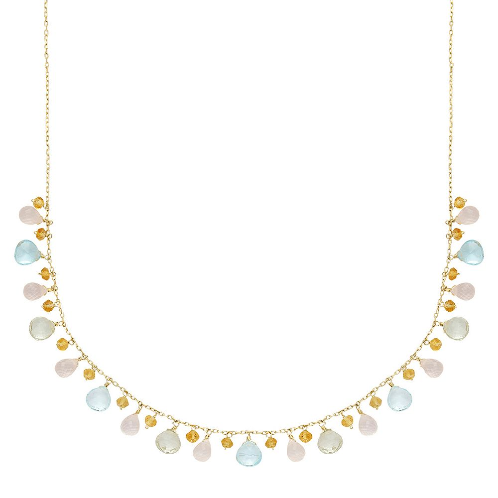 briolette etsy gold apatite aqua coast na necklace freshwater necklaces pearl pali peacock drop market il quartz chalcedony teal