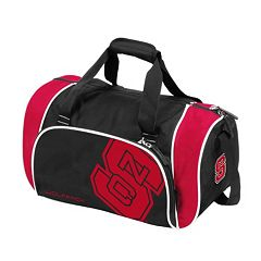 Logo Brand North Carolina State Wolfpack Locker Duffel Bag