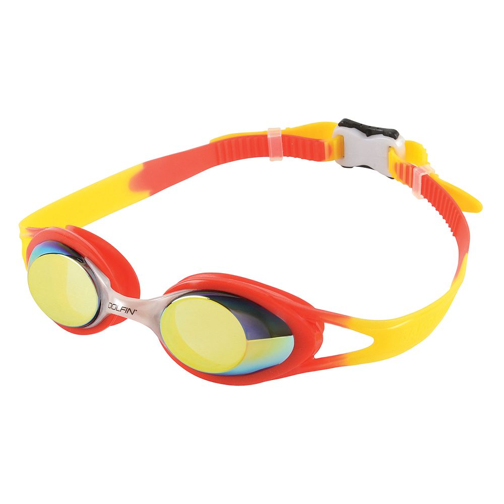 Youth Dolfin Hot Shots Mirrored Swim Goggles