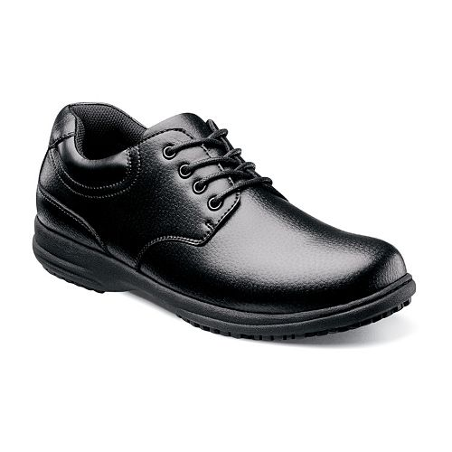 Nunn Bush Stu Men's Slip Resistant Oxfords