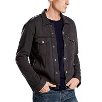 Men's Levi's® French Terry Trucker Jacket