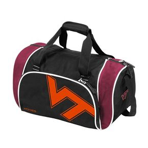 Logo Brand Virginia Tech Hokies Locker Duffel Bag