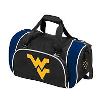Logo Brand West Virginia Mountaineers Locker Duffel Bag