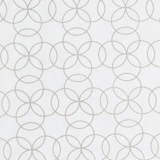 Trend Lab Circles Gray Changing Pad Cover