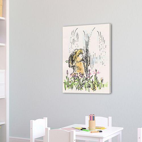 Marmont Hill Paddington Bear Sprinkler Fun Canvas Wall Art