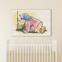 Marmont Hill Paddington Bear Peekaboo Canvas Wall Art