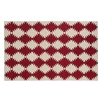 Kaleen Nomad Geronimo Geometric Reversible Wool Rug - 9' x 12'