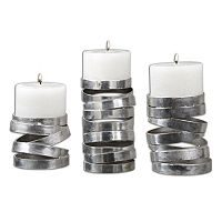 Tamaki 3 pc Candle Holder Set