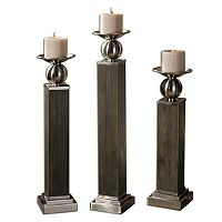 Hestia 3 pc Candle Holder Set