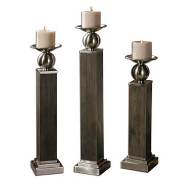 Hestia 3-piece Candle Holder Set