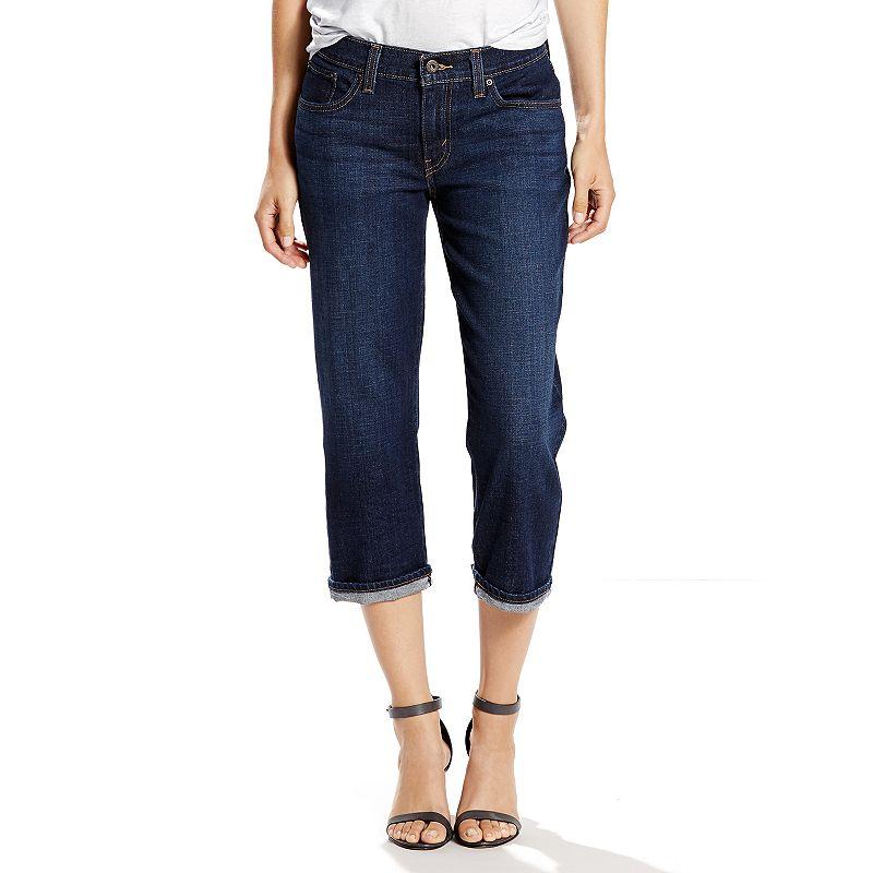 Women's Levi's Classic Fit Cuffed Capri Jeans
