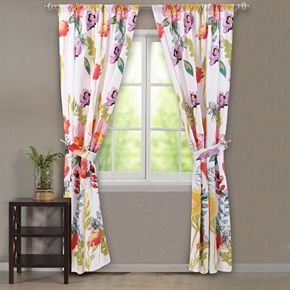 Watercolor Dream Window Curtain Set