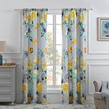 Watercolor Dream Window Curtain Set