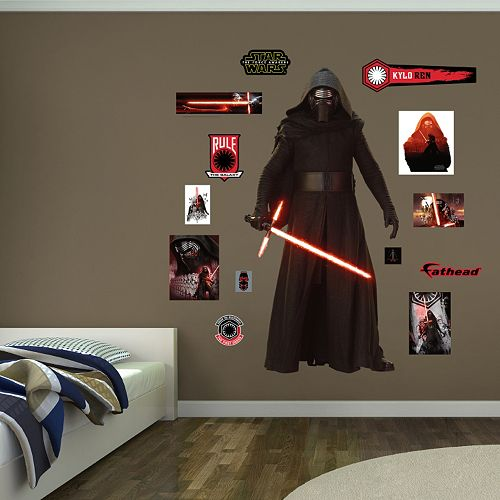 Star Wars: Episode VII The Force Awakens Kylo Ren Wall Decal by Fathead