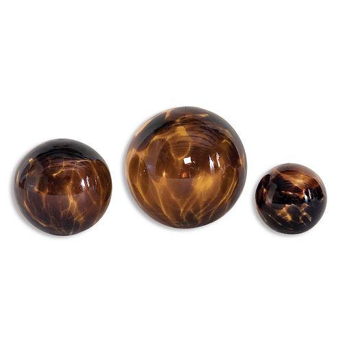 Kameko Decorative Sphere 3-piece Set