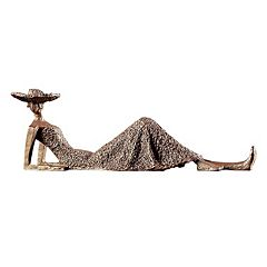 Summer Days Woman Sculpture Table Decor