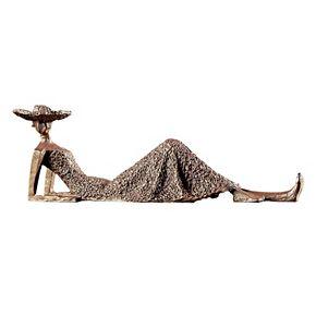 Summer Days Woman Sculpture Table Decor
