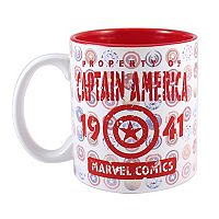 Marvel Captain America 75th Anniversary Coffee Mug