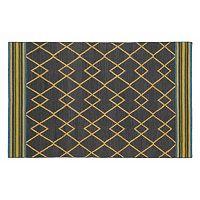 Kaleen Nomad Lines Reversible Wool Rug - 9' x 12'