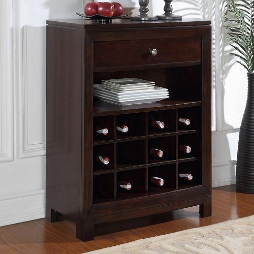 12-Wine Bottle Cabinet