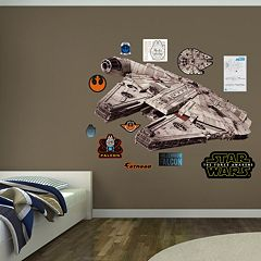 Star Wars: Episode VII The Force Awakens Millennium Flacon Wall Decal by Fathead
