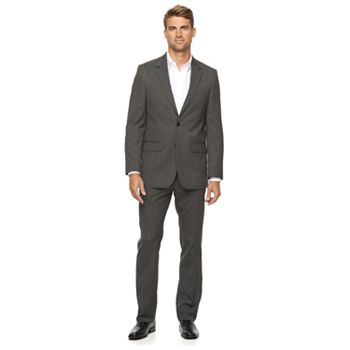 Apt. 9 Slim-Fit Unhemmed Mens Suit + $10 Kohls Cash