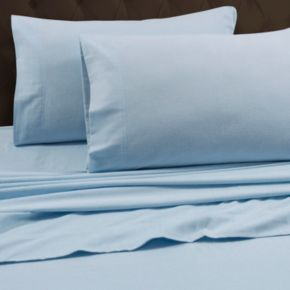 Flannel Solid 2-pack Pillowcases