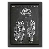Americanflat Star Wars Ewok Framed Wall Art