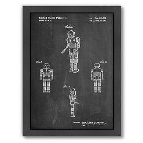 Americanflat Star Wars Droid 1 Framed Wall Art