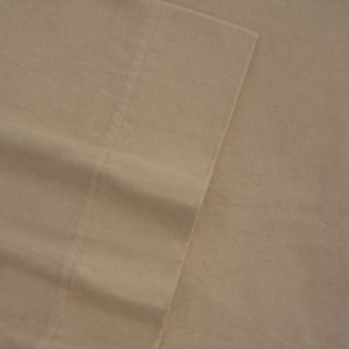 Flannel Solid Oversized Flat Sheet