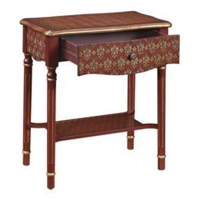 Elegant Scroll End Table