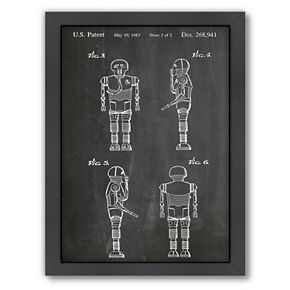 Americanflat Star Wars Droid 2 Framed Wall Art
