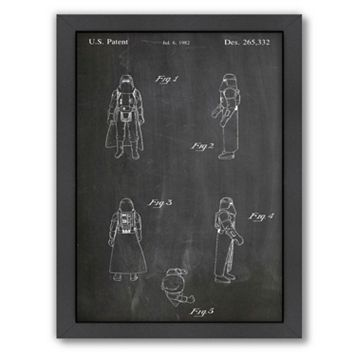 Americanflat Star War Figure Framed Wall Art
