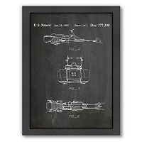 Americanflat Star Wars Land Vehicle Framed Wall Art