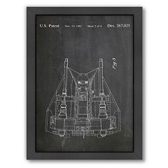 Americanflat Star Wars Rebel Vehicle Framed Wall Art