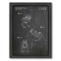 Americanflat Star Wars Tauntaun Framed Wall Art