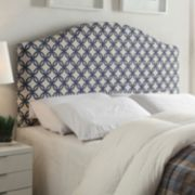 Trellis Queen Upholstered Headboard