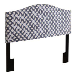 Trellis Queen Upholstered Headboard