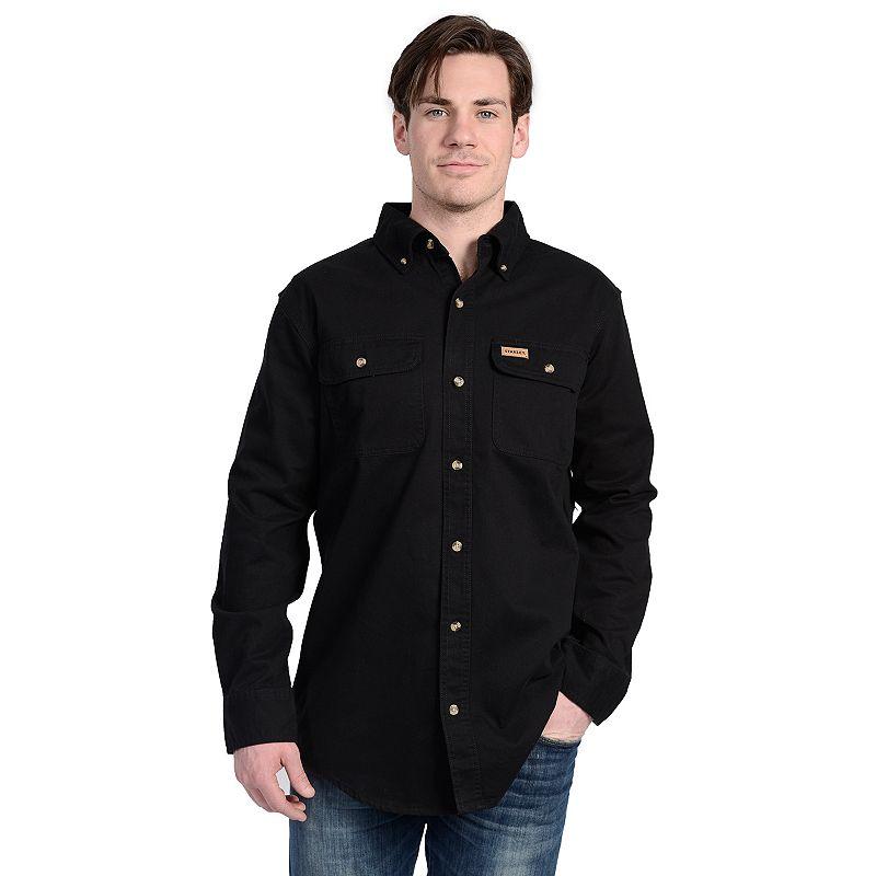 Men's Stanley Twill Button-Down Shirt