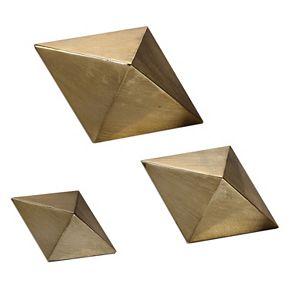 Rhombus Table Decor 3-pc. Set